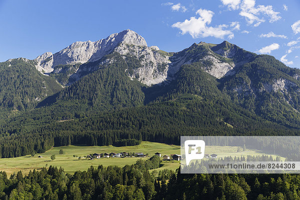 Berg Beschluss Karnischen Alpen