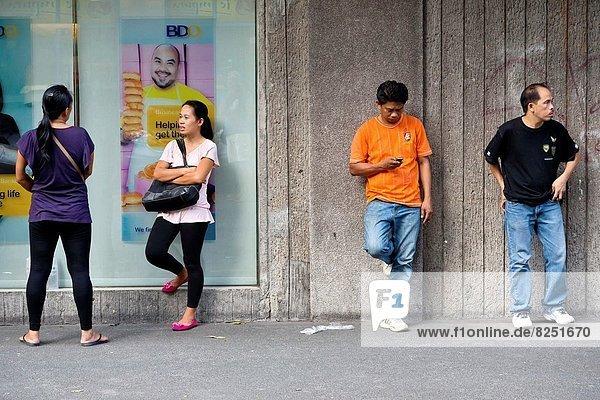 Street Life in Manila  Philippines.