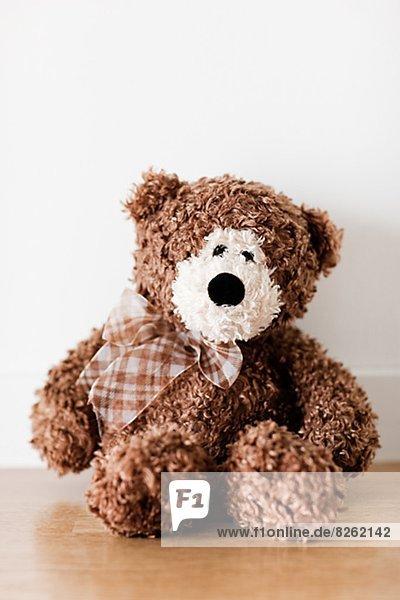Bär  Teddy  Teddybär  braun