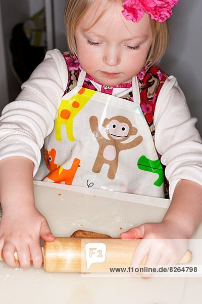 rollen Lebkuchen Mädchen