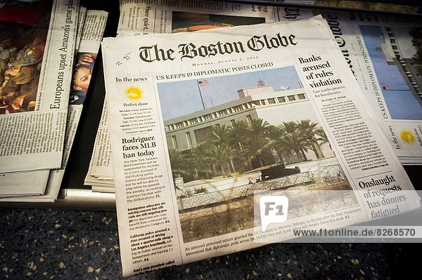 Papier Zeit Inhaber kaufen rot 1 70 Boston Globus Million neu