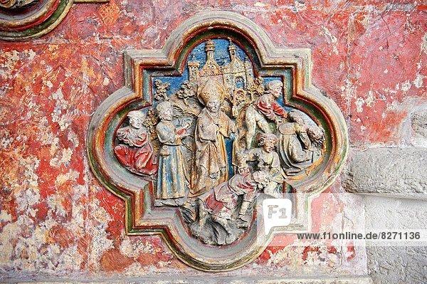 Frankreich  Skulptur  Kathedrale  Gotik  Amiens