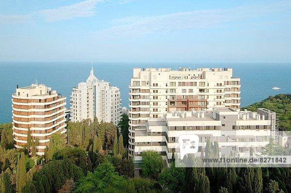 Großstadt Architektur Osteuropa Krim Ukraine
