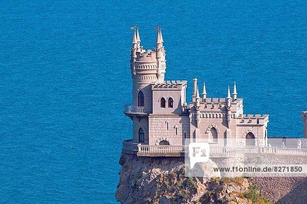 1 Osteuropa Palast Schloß Schlösser Gotik Krim Ukraine