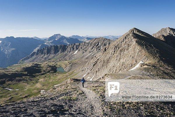 Vereinigte Staaten von Amerika  USA  wandern  amerikanisch  Richtung  Colorado  San Juan Mountains
