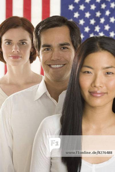 Portrait  amerikanisch  3