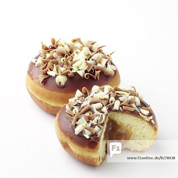 Freisteller  füllen  füllt  füllend  2  Donut  Ahorn