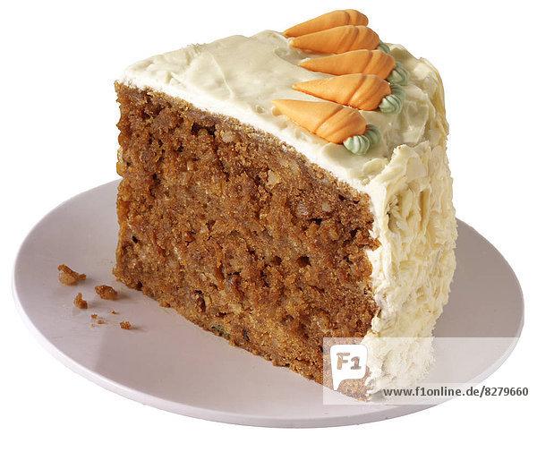 Scheibe  Teller  Kuchen  Möhre