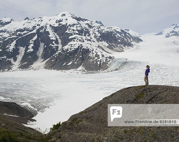 Leduc Glacier  British Columbia  Kanada