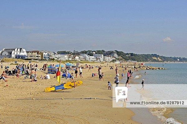 Strand Sandbunker Bunker Poole Dorset England