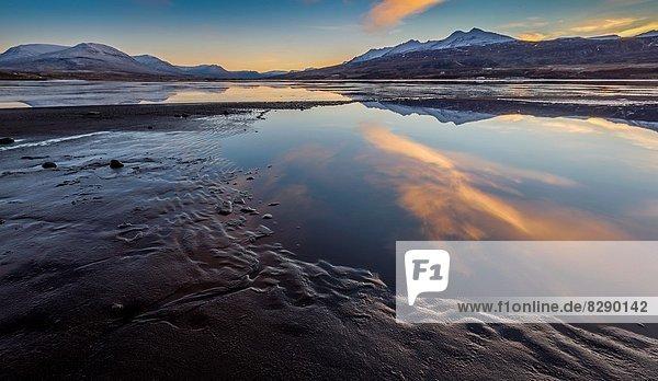 Eyjafjordur by Akureyri  Northern Iceland.