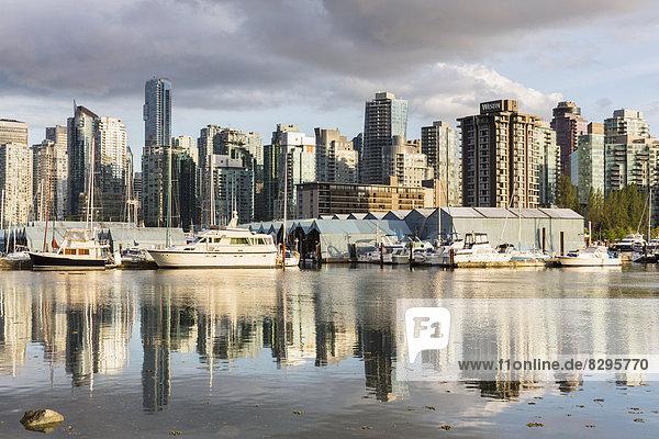 Kanada  British Columbia  Vancouver  Boote in der Marina Kanada, British Columbia, Vancouver, Boote in der Marina