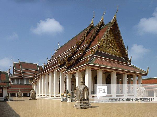 Bangkok  Hauptstadt  Südostasien  Asien  Thailand  Wat Saket