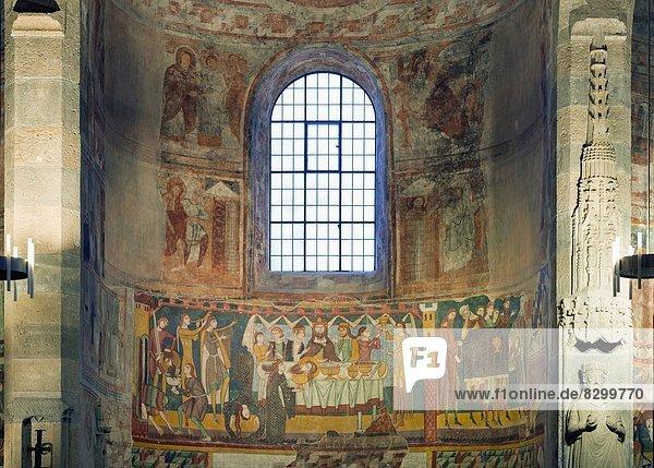 Europa  Kirche  Kanton Graubünden  UNESCO-Welterbe  Kloster  Schweiz