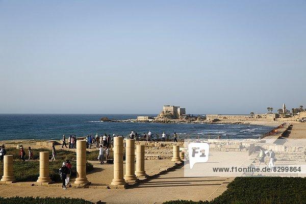 Ruine  Palast  Schloß  Schlösser  Naher Osten  Israel