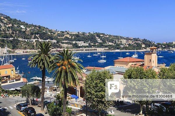 Villefranche-sur-Mer  Alpes Maritimes  Provence  Cote d'Azur  French Riviera  France  Mediterranean  Europe
