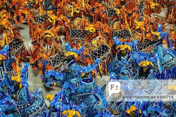 Karneval  Brasilien  Parade  Samba  Südamerika