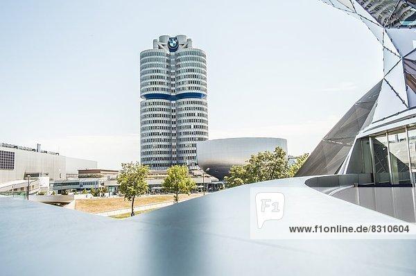 BMW-Vierzylinder  München  Bayern  Deutschland  Europa