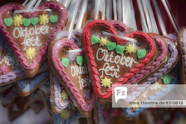 Oktoberfest  München  Bayern  Deutschland  Europa
