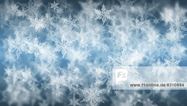 Schneeflocken  Illustration