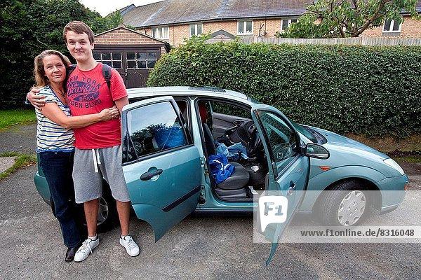 Wohnhaus Vorbereitung verlassen Zeit gehen Student Universität
