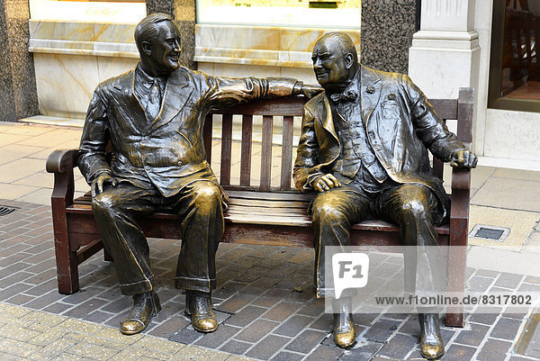 Bronze sculpture in New Bond Street