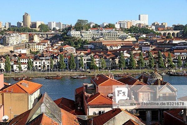 Ribeira quarter Porto Portugal.