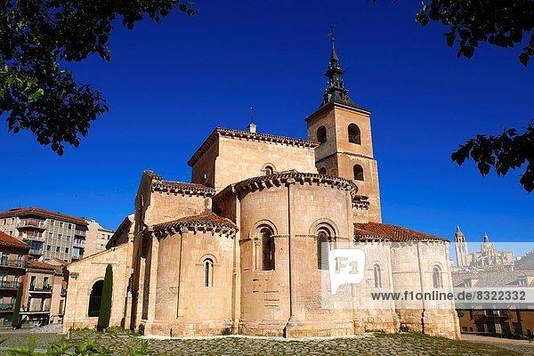 San Millán  Romanesque church  Segovia. Castilla-León  Spain.