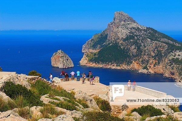 Europa  Aussichtspunkt  Mallorca  UNESCO-Welterbe  Balearen  Balearische Inseln  Spanien
