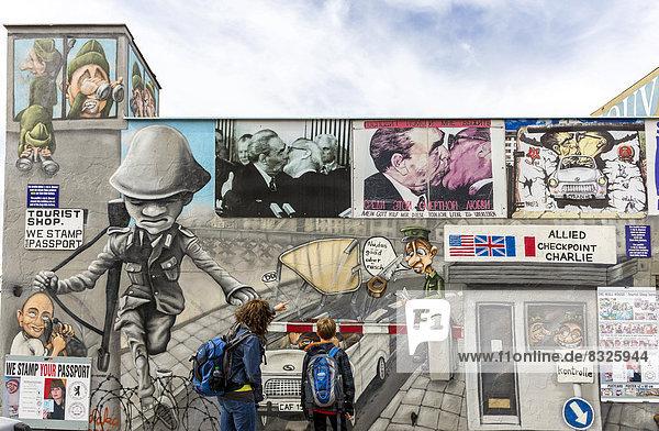 Berliner Mauer  Graffiti Berliner Mauer, Graffiti