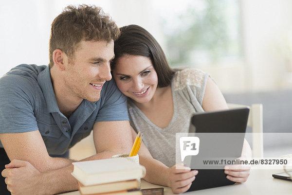 benutzen  Tablet PC