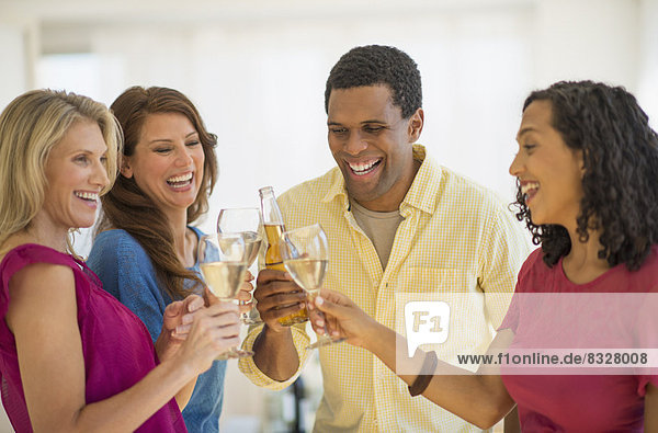 Freundschaft  Party  Produktion  Toastbrot