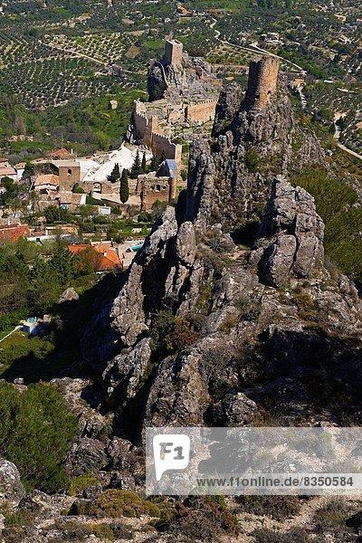Landschaft, Palast, Schloß, Schlösser, Villa, Andalusien, Spanien