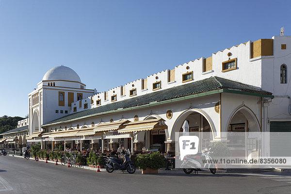 Neuer Markt  Nea Agora  Markthalle im orientalischen Stil  Neustadt  Rhodos  Insel Rhodos  Dodekanes  Griechenland