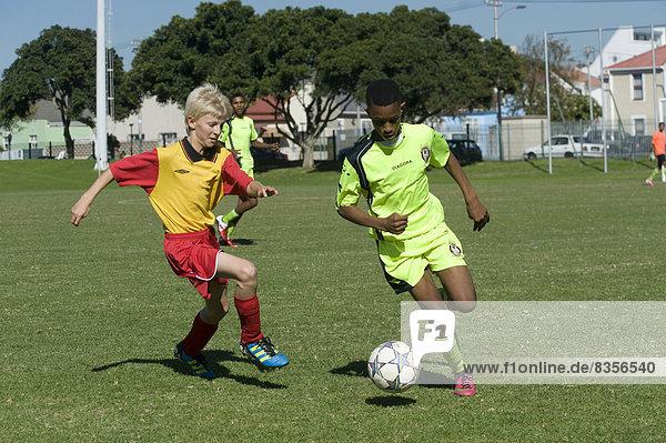 Südliches Afrika Südafrika jung spielen Western Cape Westkap