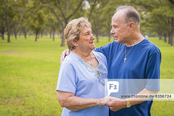 USA  Texas  Porträt eines älteren Paares