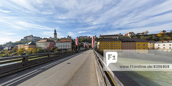 Germany  Bavaria  Landshut  View of the old town