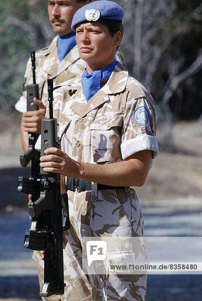 Soldat  Verbindung  britisch  Zypern