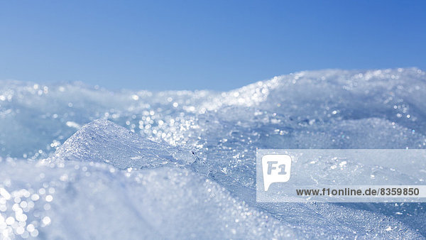 Iceland  Ice in the Jokulsarlon glacier lagoon