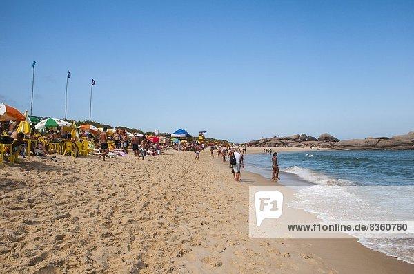 Strand  Insel  Brasilien  Santa Catarina Bundesstaat  Südamerika