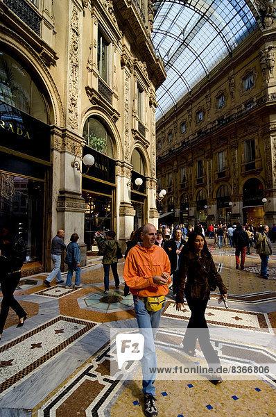 Mailand Stadt Galleria Veii  Italien