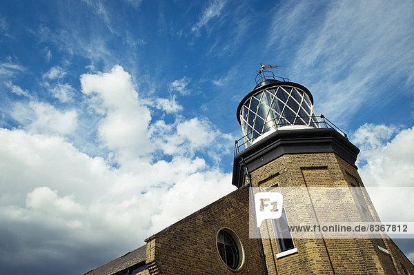 Leuchtturm In Docklands London  Uk