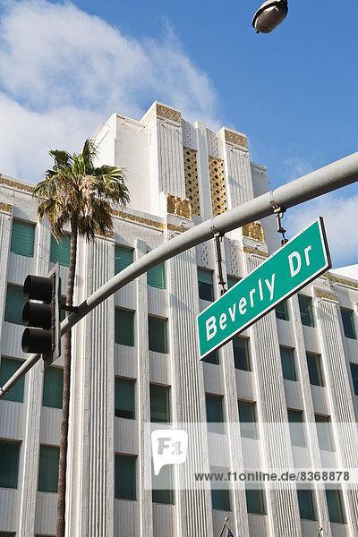 Vereinigte Staaten von Amerika USA fahren Fernverkehrsstraße Zeichen Kalifornien Signal