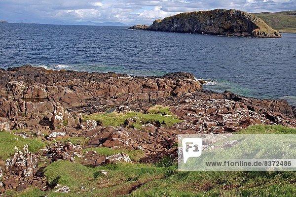 Großbritannien  Küste  Highlands  Isle of Skye  Schottland