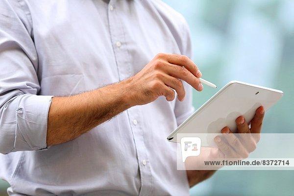 Einkaufszentrum  Mann  Technologie  Business  Spanien