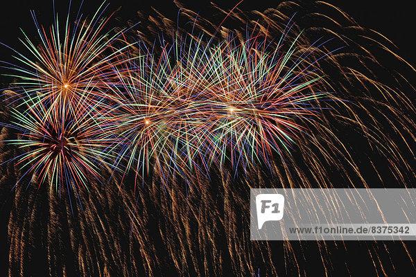 Feuerwerk London  England