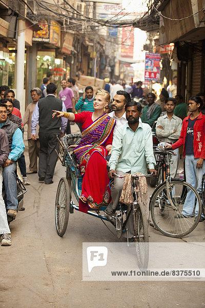 Indien  Punjab  Rikscha