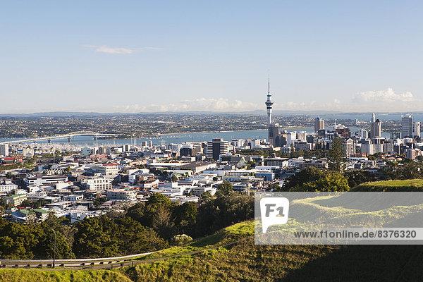 Himmel  Großstadt  Turm  Ansicht  Garten Eden  Auckland  Neuseeland