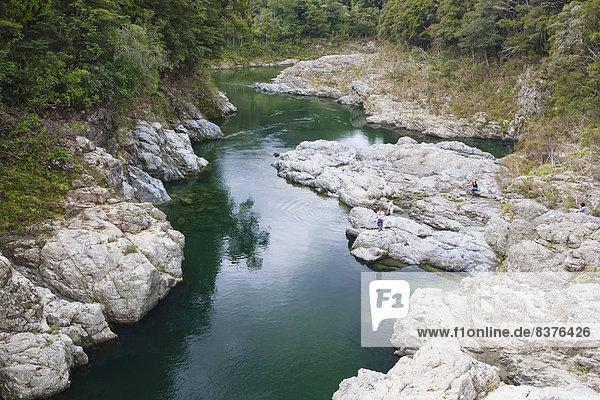 rennen  Fluss  Geographie  Neuseeland