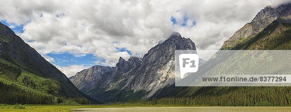 Panorama  Berg  Kanada  Northwest Territories